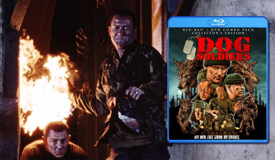 Darren Morfitt and Sean Pertwee star in Dog Soldiers: Collector's Edition, now on Blu-ray from Shout Factory!