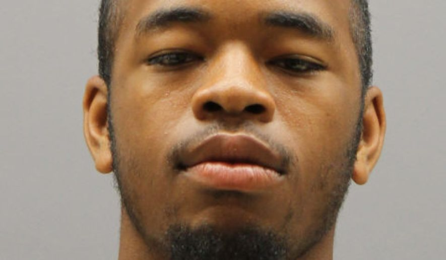 This photo provided by the Metropolitan Police Department shows Jasper Spires, who has been arrested for first degree murder while armed for the stabbing death of Kevin Sutherland, 24, the first-ever homicide aboard a Metro train in the nearly 40-year history of the D.C. region's subway system.   (Metropolitan Police Department via AP) MANDATORY CREDIT