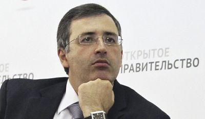 """Sergei Guriev, a noted Russian economist who fled Russia in 2013 after expressing support for opposition figures, fears Kendrick White's dismissal could be the start of a campaign to purge Russia of U.S. specialists. """"This is a very unfortunate development,"""" Mr. Guriev told The Washington Times in emailed comments from Paris. """"Mr. White has been one of the most devoted and optimistic private investors and advisers to young Russian innovators."""" (Associated Press)"""