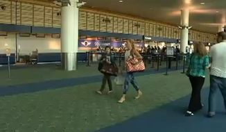 Portland International Airport is now allowing passengers to carry marijuana aboard in-state flights under the state's recreational marijuana law that went into effect this month. (KPTV)