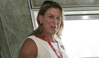 Kristin Beck, a former Navy SEAL who went by the name Chris Beck, applauded the Obama administration's push to integrate transgender troops into the military. (Associated Press/File)