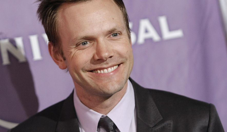 FILE - In this Aug. 5, 2009 file photo, Actor Joel McHale arrives at the NBC Summer press tour party in Pasadena, Calif. McHale has landed the ultimate gig for a serious sports fan: hosting the ESPY Awards. (AP Photo/Dan Steinberg)
