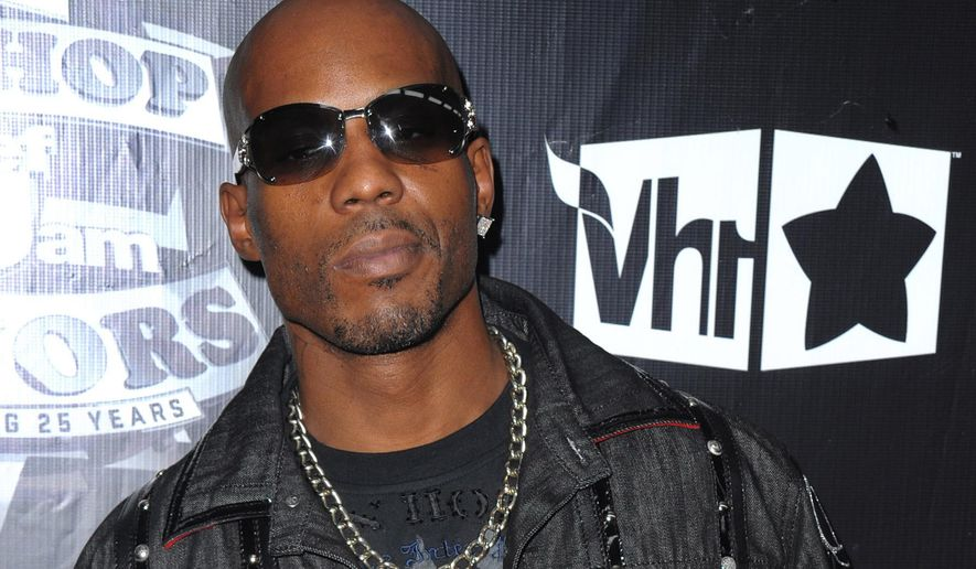 In this Sept. 23, 2009, file photo, DMX arrives at the 2009 VH1 Hip Hop Honors at the Brooklyn Academy of Music, in New York.(AP Photo/Peter Kramer, File)