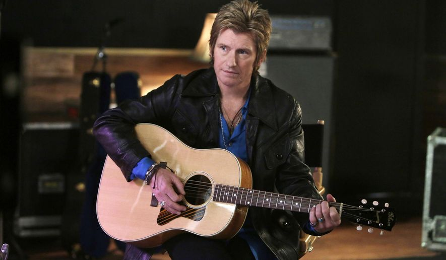 """In this image released by FX, Denis Leary portrays Johnny Rock in a scene from, """"Sex&Drugs&Rock&Roll,"""" premiering Thursday at 10 p.m. EDT on FX. (Patrick Harbron/FX via AP)"""