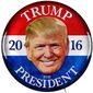 Trump Campaign Button Illustration by Greg Groesch/The Washington Times