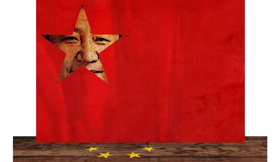 Flag of Jinping Illustration by Greg Groesch/The Washington Times