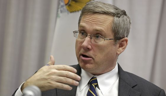 """Sen. Mark Kirk, Illinois Republican, told The Washington Times that """"Movements.org brings 21st century tools to the fight against human rights abusers and closed societies."""" (Associated Press)"""