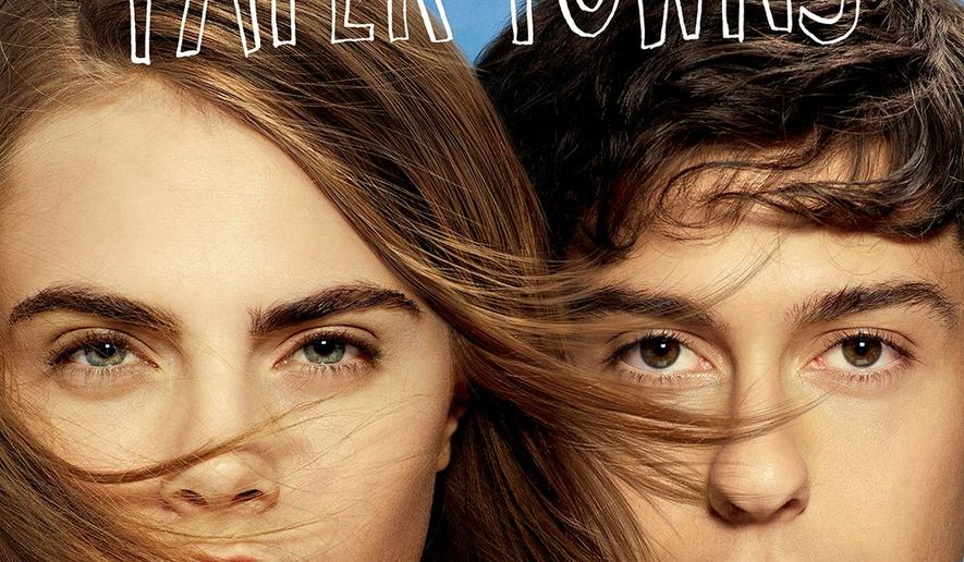 "This CD cover image released by Atlantic Records shows the original motion picture soundtrack from, ""Paper Towns."" (Atlantic via AP)"