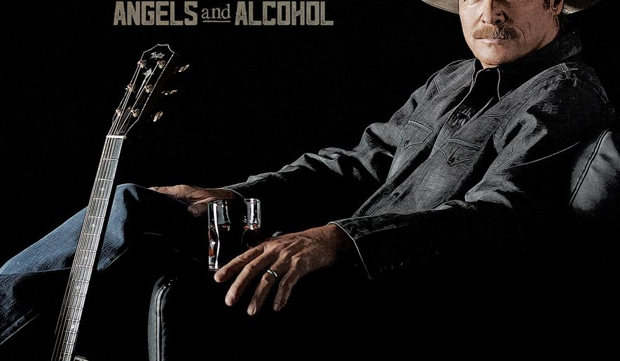 "This CD cover image released by ACR Records shows ""Angels and Alcohol,"" the latest release by Alan Jackson. (ACR Records via AP)"