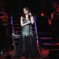 """Idina Menzel came to the concert stage by way of Broadway, having originated the role of Maureen Johnson in """"Rent"""" and """"Wicked"""" with Kristen Chenoweth. (Associated Press)"""
