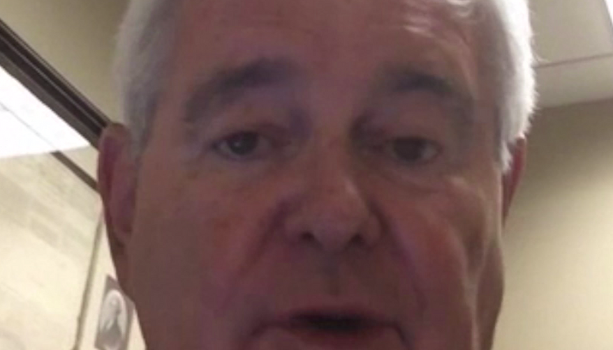 Former House Speaker Newt Gingrich (Photo from screenshot of video taken on July 16, 2015, in interview with Scott Lamb.