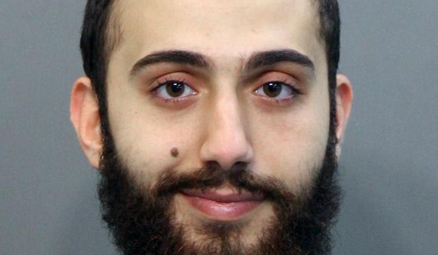 This April 2015 booking photo released by the Hamilton County Sheriffs Office shows a man identified as Mohammad Youssduf Adbulazeer after being detained for a driving offense. A U.S. official speaking on condition of anonymity identified the gunman in shootings at two Chattanooga military facilities asMuhammad Youssef Abdulazeez, who sharesthe same age and address as the man in the photo. (Hamilton County Sheriffs Office via AP) ** FILE **
