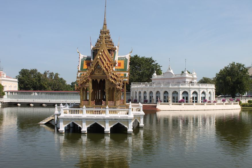 Thailand's Grand Palace of 1782, where the kings of then-Siam resided for 150 years. (Photo by Adrienne Jordan)