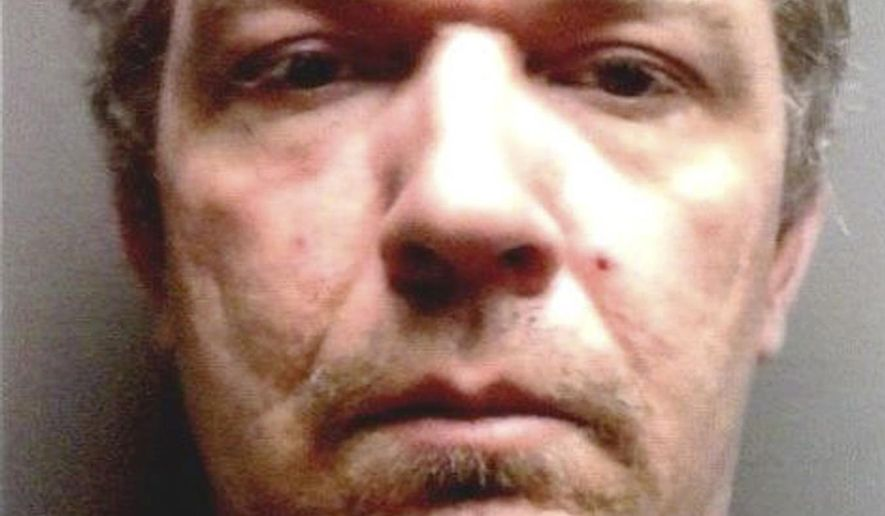 This undated photo from the Maine Sex Offender Register released Friday, July 17, 2015, by the Maine State Police shows Anthony Lord, being sought in connection with the shootings of four people in three different communities in northern Maine on Friday. (Maine State Police via AP)