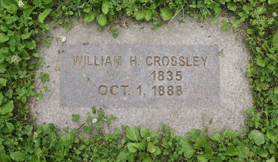In this June 17, 2015, photo, the grave of a man considered the first black male slave freed by Abraham Lincoln is shown at the Rochester State Hospital Cemetery in Rochester, Minn. William Henry Costley was just 10 months old in 1841 when a young Lincoln won a case before the Illinois Supreme Court that freed his mother Nance Legins-Costley from indentured servitude, a status tantamount to slavery. As her son, Costley was essentially a slave, too. Carl Adams published a book on Nance Legins-Costley, last year. After piecing together spellings that varied on William Costley's name, and pension and hospital records, Adams and his collaborators then used records at the Minnesota Historical Society to trace his grave to the cemetery of the now-closed Rochester State Hospital.(Scott Jacobson /The Rochester Post-Bulletin via AP)
