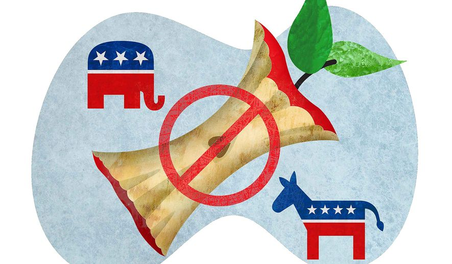 Mutual Dislike for Common Core Illustration by Greg Groesch/The Washington Times