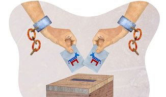 Illegal Expansion of the Electorate Illustration by Greg Groesch/The Washington Times