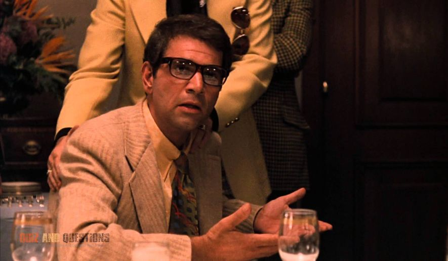 "Alex Rocco as Moe Greene in ""The Godfather."" (Yahoo)"