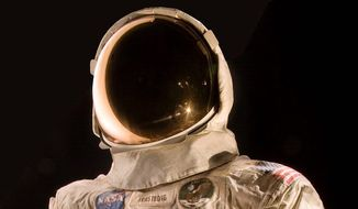 The Smithsonian Institution's National Air and Space Museum is launching a crowdfunding campaign to conserve the spacesuit Neil Armstrong wore on the moon. Conservators say spacesuits were built for short-term use with materials that break down over time. (Associated Press)
