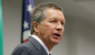 Ohio Gov. John Kasich is set to enter the race for the Republican 2016 presidential nomination Tuesday, making him the 16th officially declared candidate from the GOP. Mr. Kasich will then travel on to New Hampshire, Iowa and South Carolina. (Associated Press)