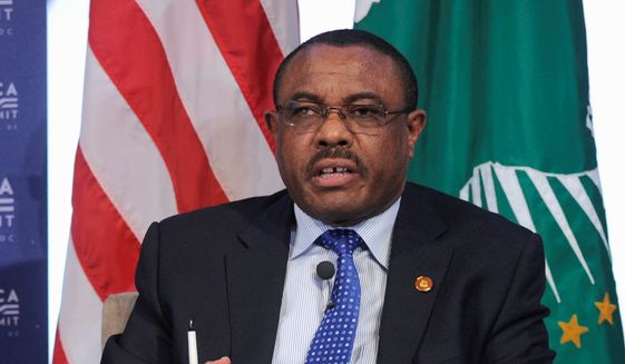 Hailemariam Desalegn, long criticized for human rights abuses and attacks on press freedom, is staying on temporarily as prime minister in a caretaker capacity until lawmakers in the ruling Ethiopian People's Revolutionary Democratic Front name a new leader. (Associated Press/File)
