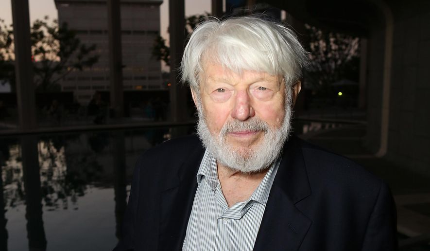 "CORRECTS DATE OF DEATH TO TUESDAY, JULY 21 - In this Sept. 7, 2012 file photo, actor Theodore Bikel poses at the opening night performance of ""November"" at the Center Theatre Group/Mark Taper Forum in Los Angeles. Bikel, the Tony-nominated actor and singer whose passions included folk music and political activism, died Tuesday, July 21 2015 in a Los Angeles hospital. He was 91. (Photo by Ryan Miller/Invision/AP, File)"