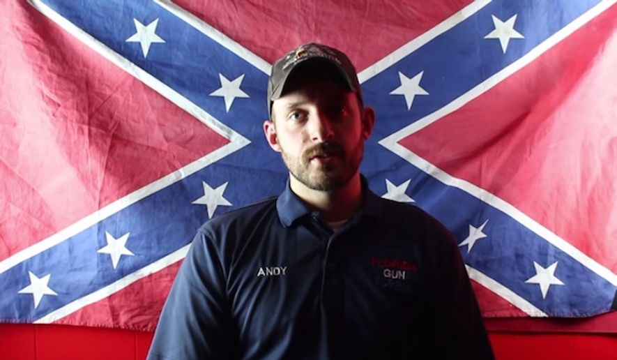 "The Council on American-Islamic Relations (CAIR) is calling on the Department of Justice to investigate Florida Gun Supply owner Andy Hallinan after he declared his business as ""Muslim-free"" in a YouTube video. (YouTube/Florida Gun Supply)"