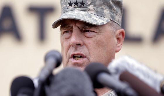 Lt. Gen. Mark Milley (Associated Press) **FILE**