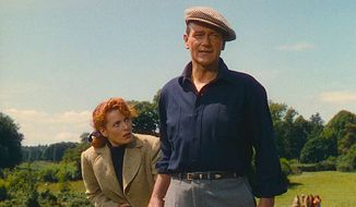 "A scene from ""The Quiet Man"" with John Wayne and Maureen O'Hara, released in 1952. (Republic Pictures historic image)"