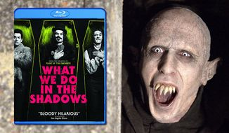 """The 8,000 year old vampire Petyr co-stars in Paramount Home Entertainment's """"What We Do In The Shadows,"""" now available in Blu-ray."""