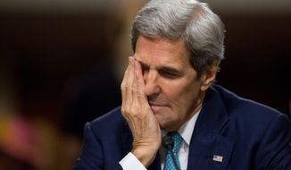 Secretary of State John Kerry. (AP Photo/Andrew Harnik)