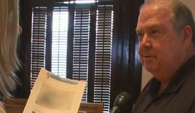 """Newton County Commissioner John Douglas has finally apologized after first denying, then defending a Facebook post in which he called a black woman desecrating the American flag a """"street walker knee grow."""" (11Alive)"""
