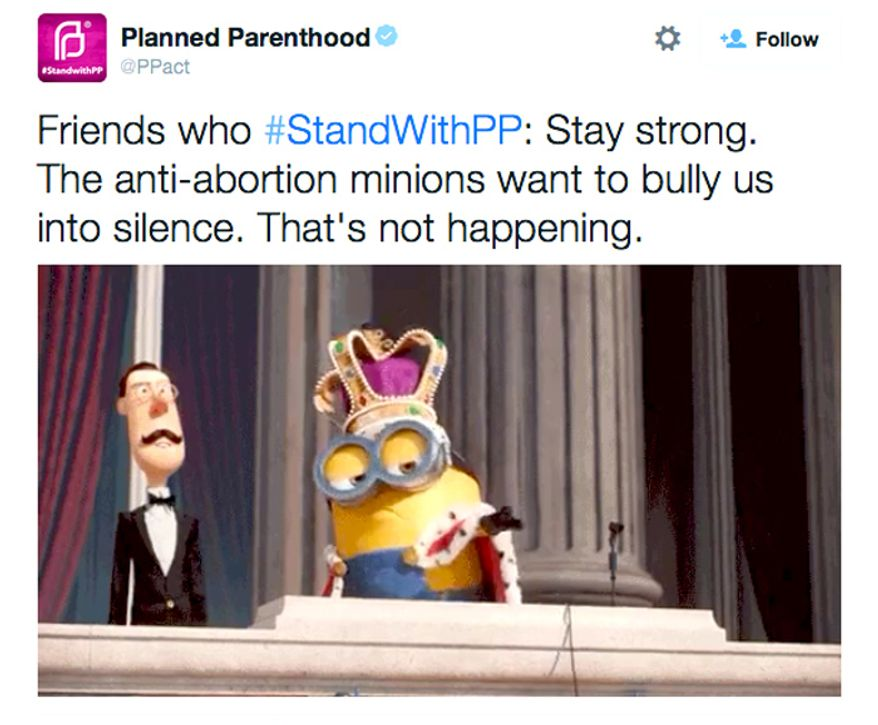 (Image: Twitter, Planned Parenthood)