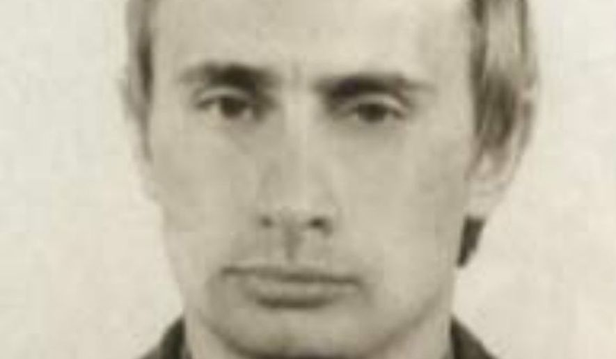 A young Vladimir Putin is shown in this photo of him as a ... Young Vladimir Putin Kgb