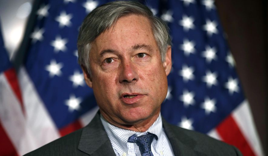Rep. Fred Upton, R-Mich., speaks in Washington in this Nov. 13, 2013, file photo. (AP Photo/Charles Dharapak, File)