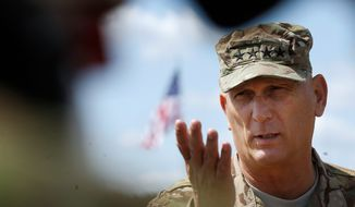 Gen. Raymond T. Odierno said that had the U.S. military stayed in Iraq longer, the Islamic State situation might be under more control. (Associated Press)