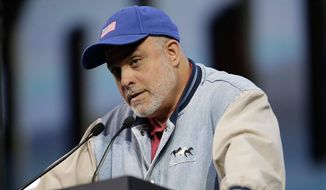 Talk radio host Mark Levin (Associated Press) ** FILE **