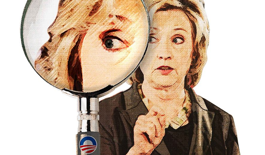 Inspectors General and Hillary's Email Illustration by Greg Groesch/The Washington Times