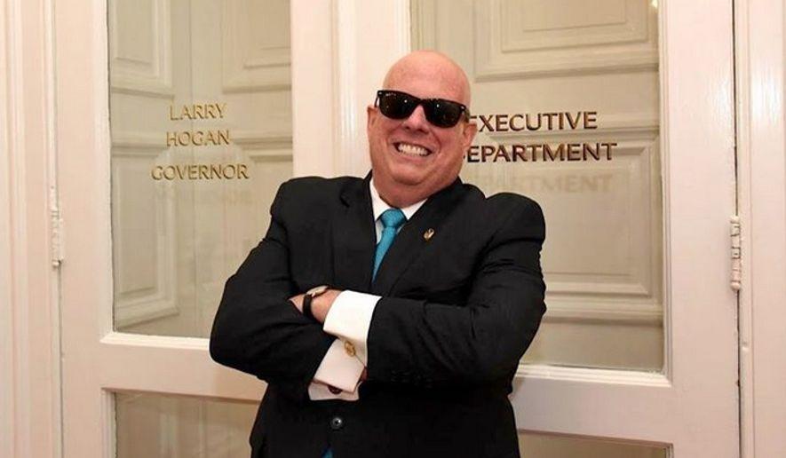 Maryland Gov. Larry Hogan (Image: Facebook)
