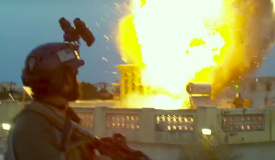 """Michael Bay's """"13 Hours: The Secret Soldiers of Benghazi"""" is in theaters January 15, 2016. (Image: YouTube, Paramount Pictures)"""