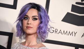 Katy Perry arrives at the 57th annual Grammy Awards at the Staples Center in Los Angeles in this Feb. 8, 2015, file photo. (Photo by Jordan Strauss/Invision/AP, File)