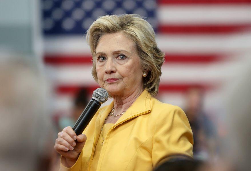 Hillary Rodham Clinton (Associated Press/File)