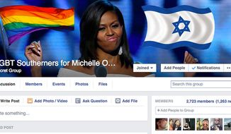 "Virgil Texas, a blogger from New York, hacked into a ""Confederate Pride"" Facebook group and turned its landing page into an pro-LGBT, pro-Israel, pro-Michelle Obama outlet. (Image: Twitter, Virgil Texas) ** FILE **"