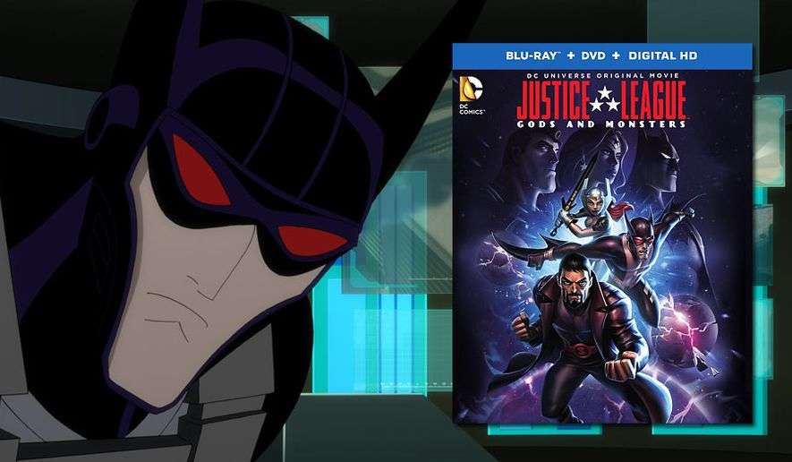 Kirk Langstrom is Batman in Warner Home Video's Justice League: Gods & Monsters now available in Blu-ray.