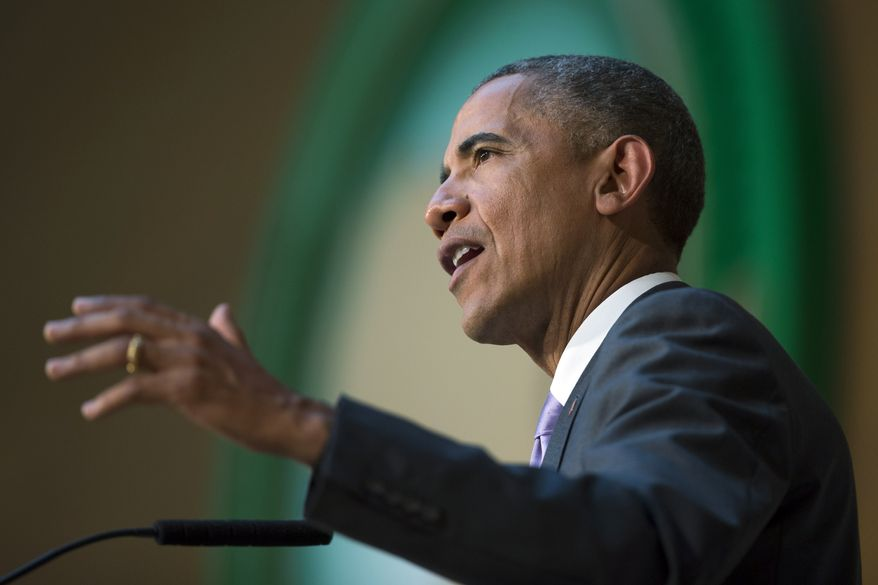 Key pieces of President Obama's environmental plan, including proposals to increase ozone standards, limit carbon emissions from power plants and continue mandating more ethanol in U.S. gasoline supplies, will bring with them serious side effects in the coming months and years, critics and some analysts say. (Associated Press)