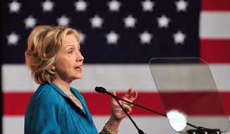 Classified data may have been improperly stored on Hillary Rodham Clinton's network. (AP Photo/Gaston De Cardenas)