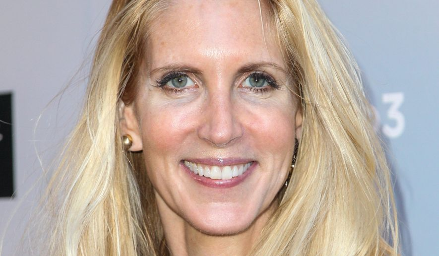 "Ann Coulter is being vilified on social media after she accused GOP presidential candidates of pandering to ""f---ing Jews"" during Thursday night's CNN debate."