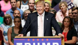 Republican presidential candidate Donald Trump has more than twice the support of his closest rivals. (Associated Press)