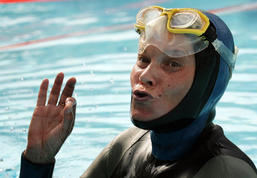 Natalia Molchanova went missing Sunday in the Belearic Sea near the island of Formentera, when she got caught by a strong underwater current. (Associated Press)