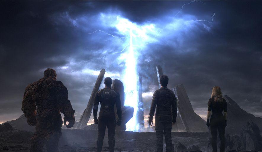 "A scene from ""Fantastic Four."" (Twentieth Century Fox via AP)"